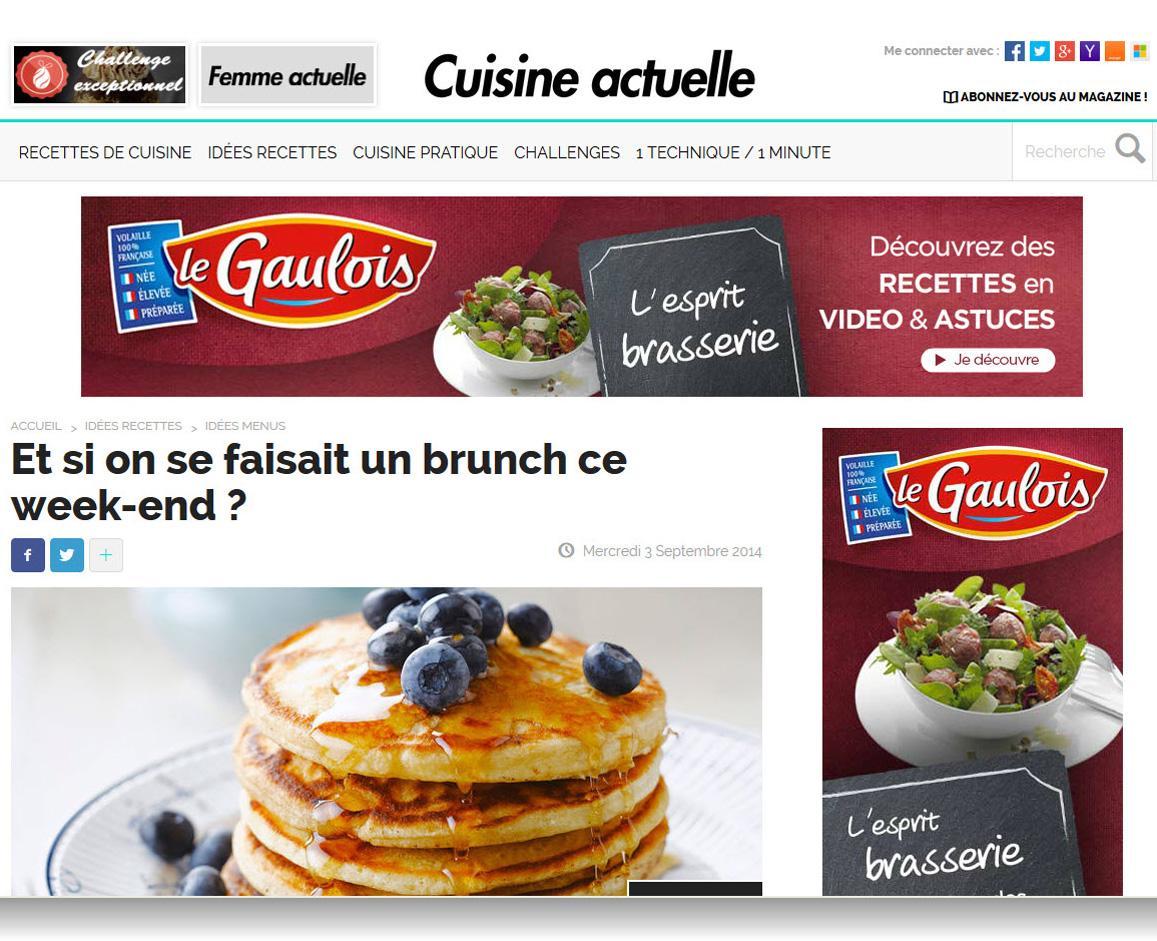 Cuisineactuelle Fr Desktop Online Media Data